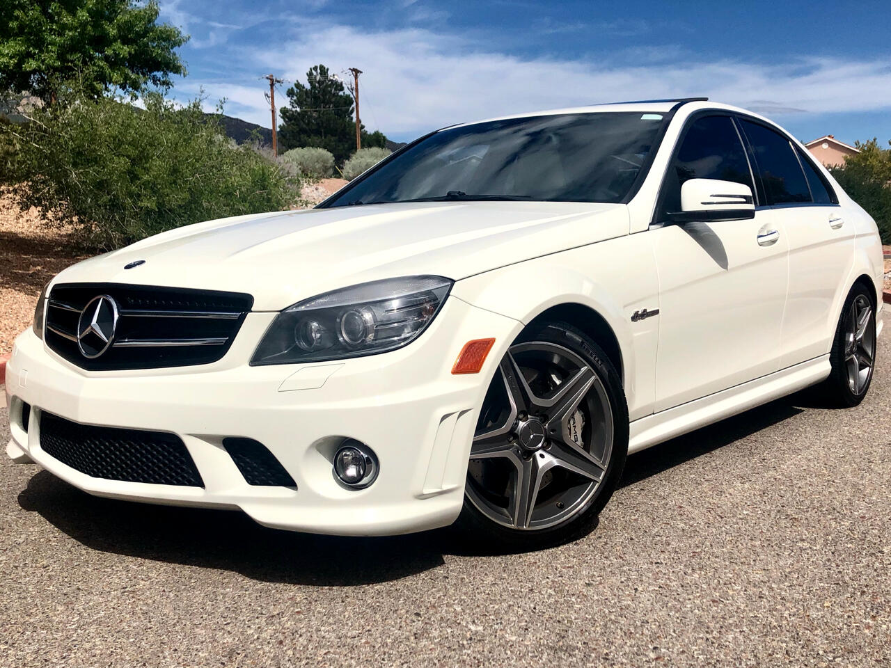 2011 Mercedes-Benz C-Class 4dr Sdn C 63 AMG RWD