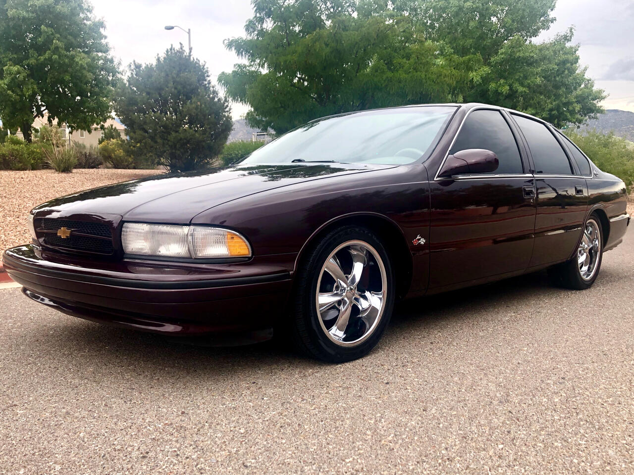 1996 Chevrolet Caprice Classic/Impala SS/Caprice Police/Taxi Pkgs Impala SS 4dr SDN