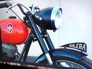 1954 Custom Motorcycle Gilera 150 Sport