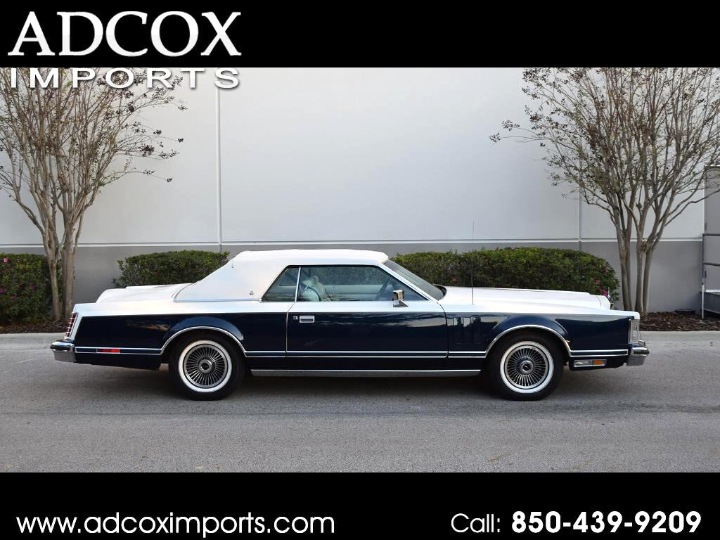 1979 Lincoln Mark V Bill Blass Edition
