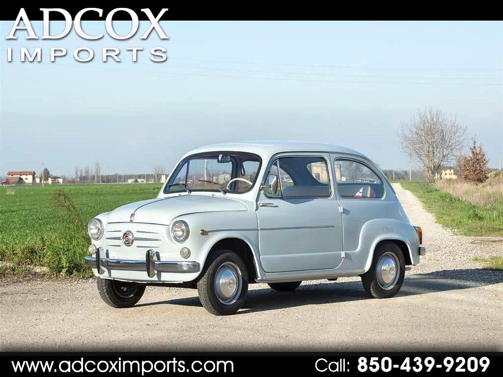 1963 Fiat 600 600D