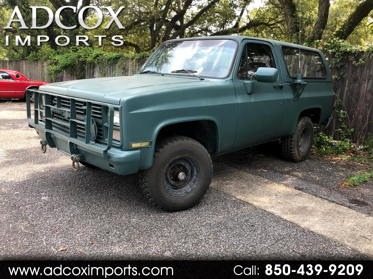 Chevrolet D10 Military Blazer 4WD 1985