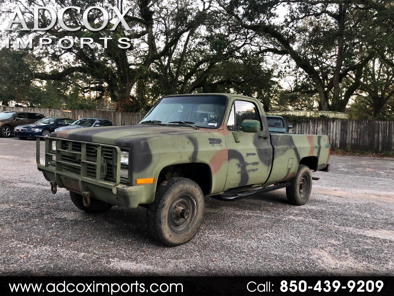 Chevrolet D30 Military Postal Unit 1986