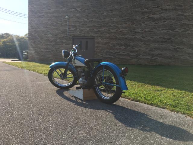 1958 Harley-Davidson Motorcylce Hummer