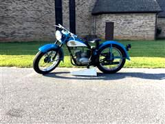 1958 Harley-Davidson Motorcylce