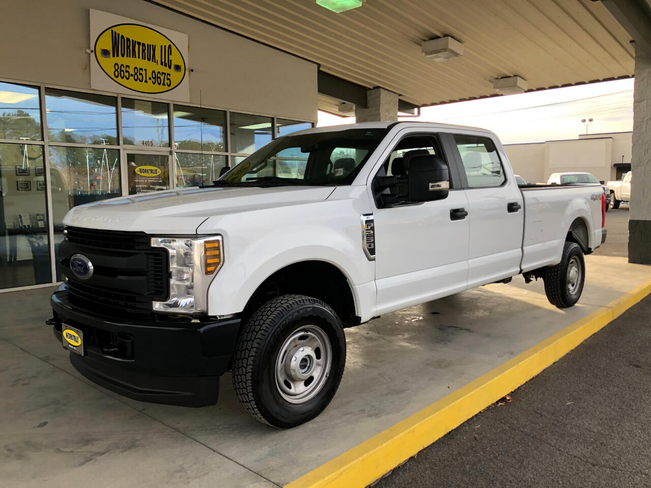 Ford Super Duty F-250 SRW King Ranch 4WD Crew Cab 8' Box 2019