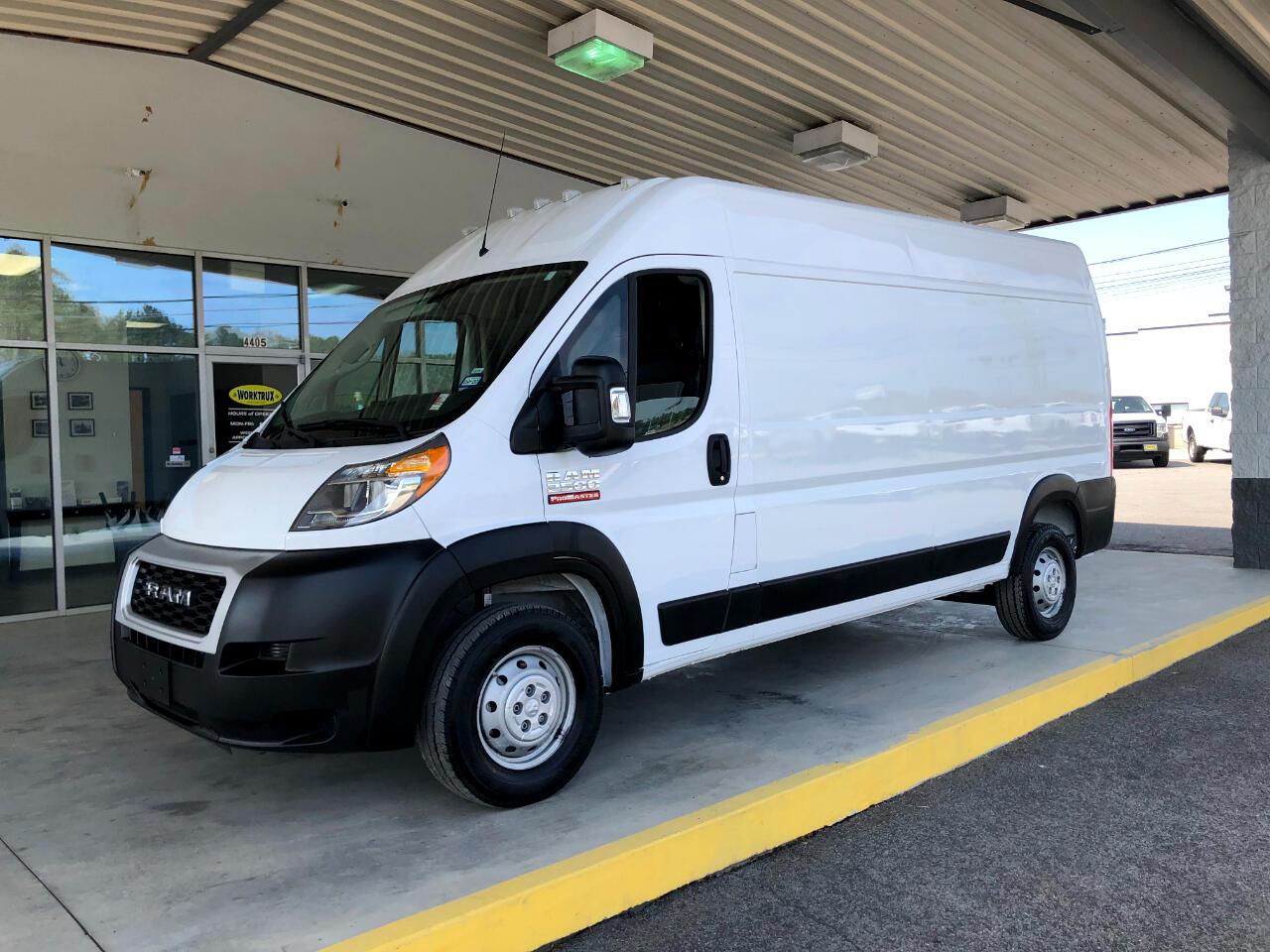 "RAM ProMaster Cargo Van 2500 High Roof 159"" WB 2019"