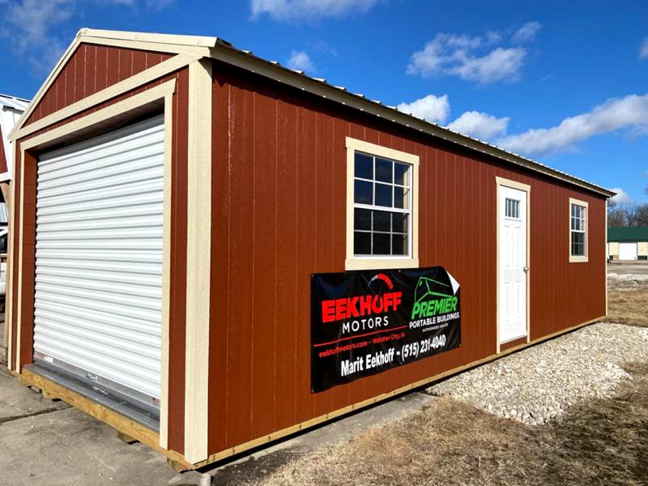 Premier Portable Buildings Garage  2019