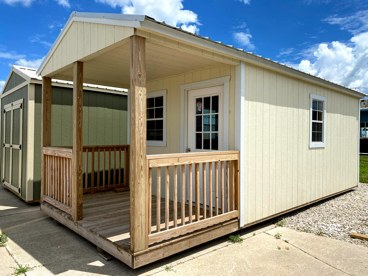 Premier Portable Buildings Cabin  2019