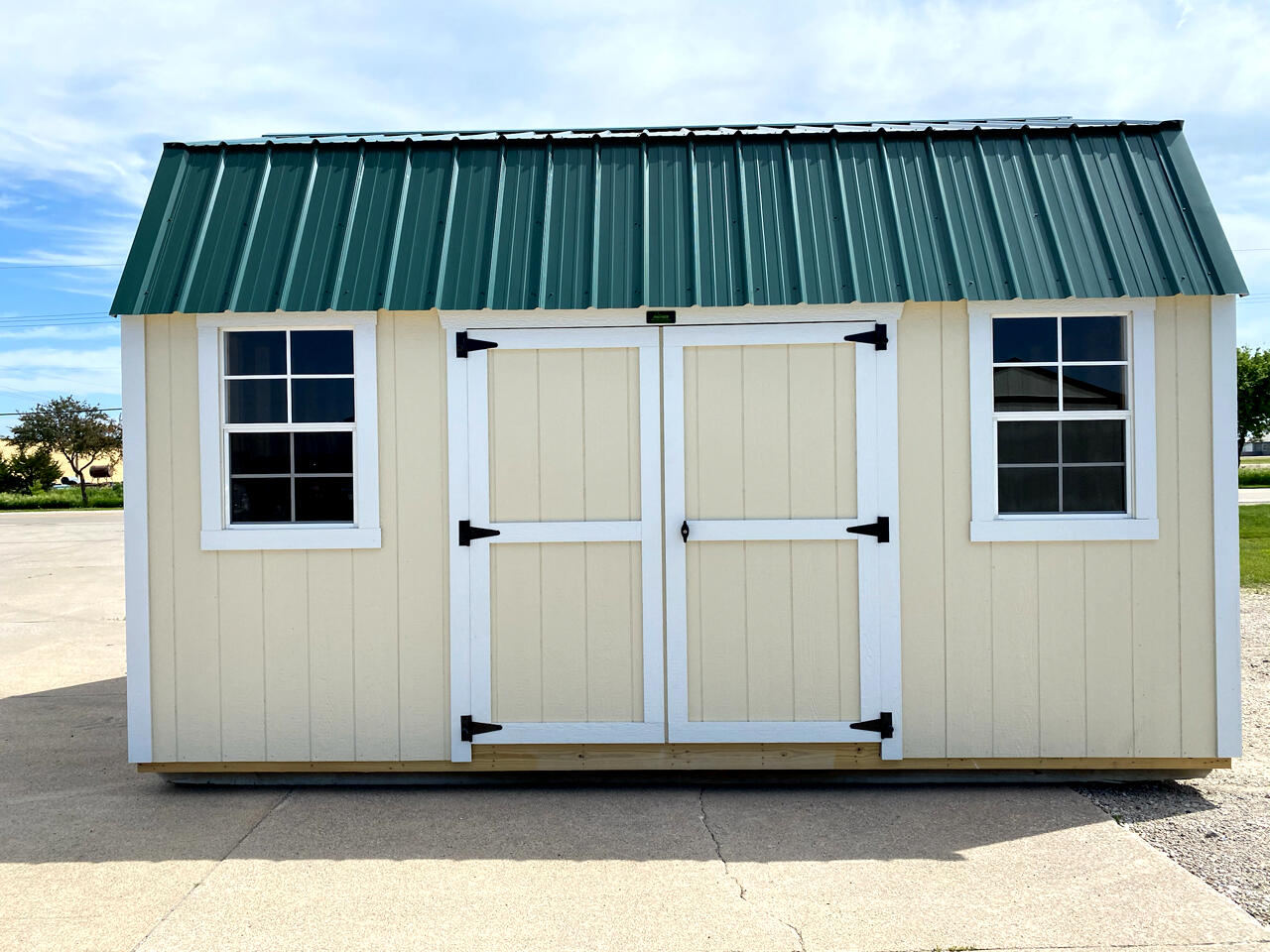 Premier Portable Buildings Side Lofted Barn  2020