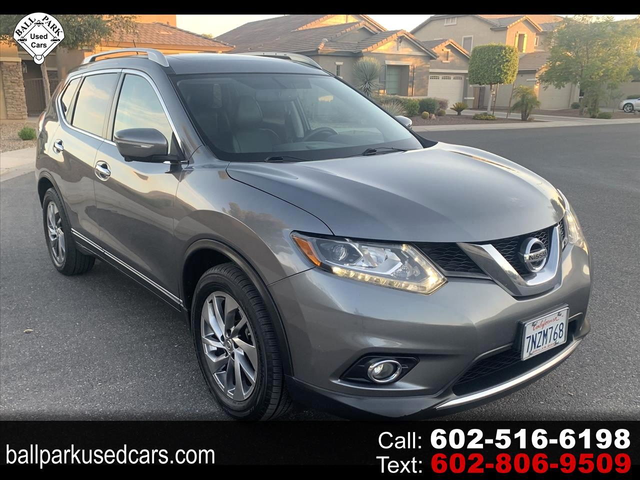 Nissan Rogue FWD 4dr SL 2015