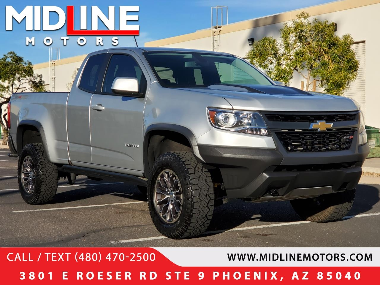 Chevrolet Colorado ZR2 Ext. Cab 4WD 2017