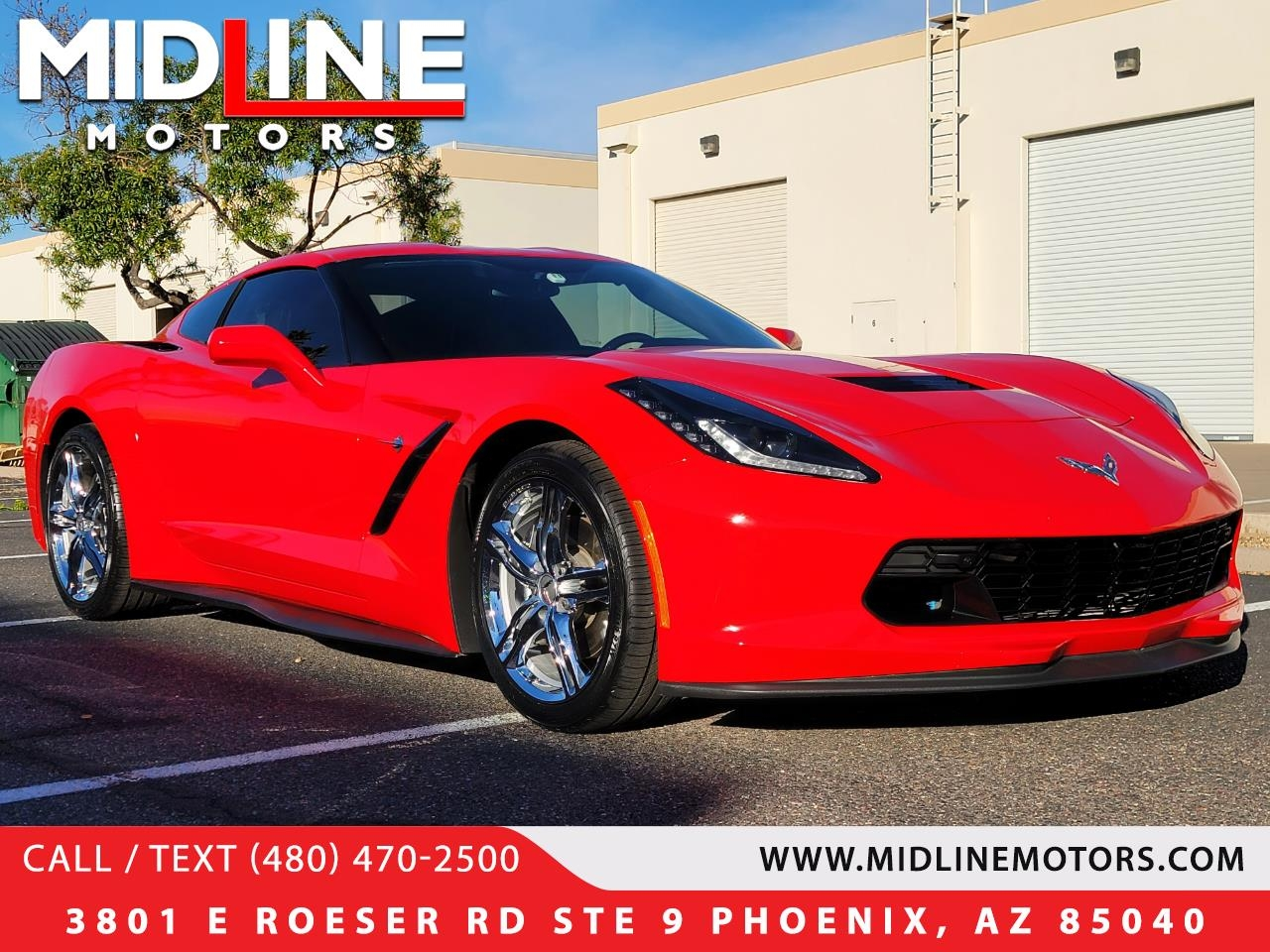 Chevrolet Corvette 2LT Coupe Automatic 2017