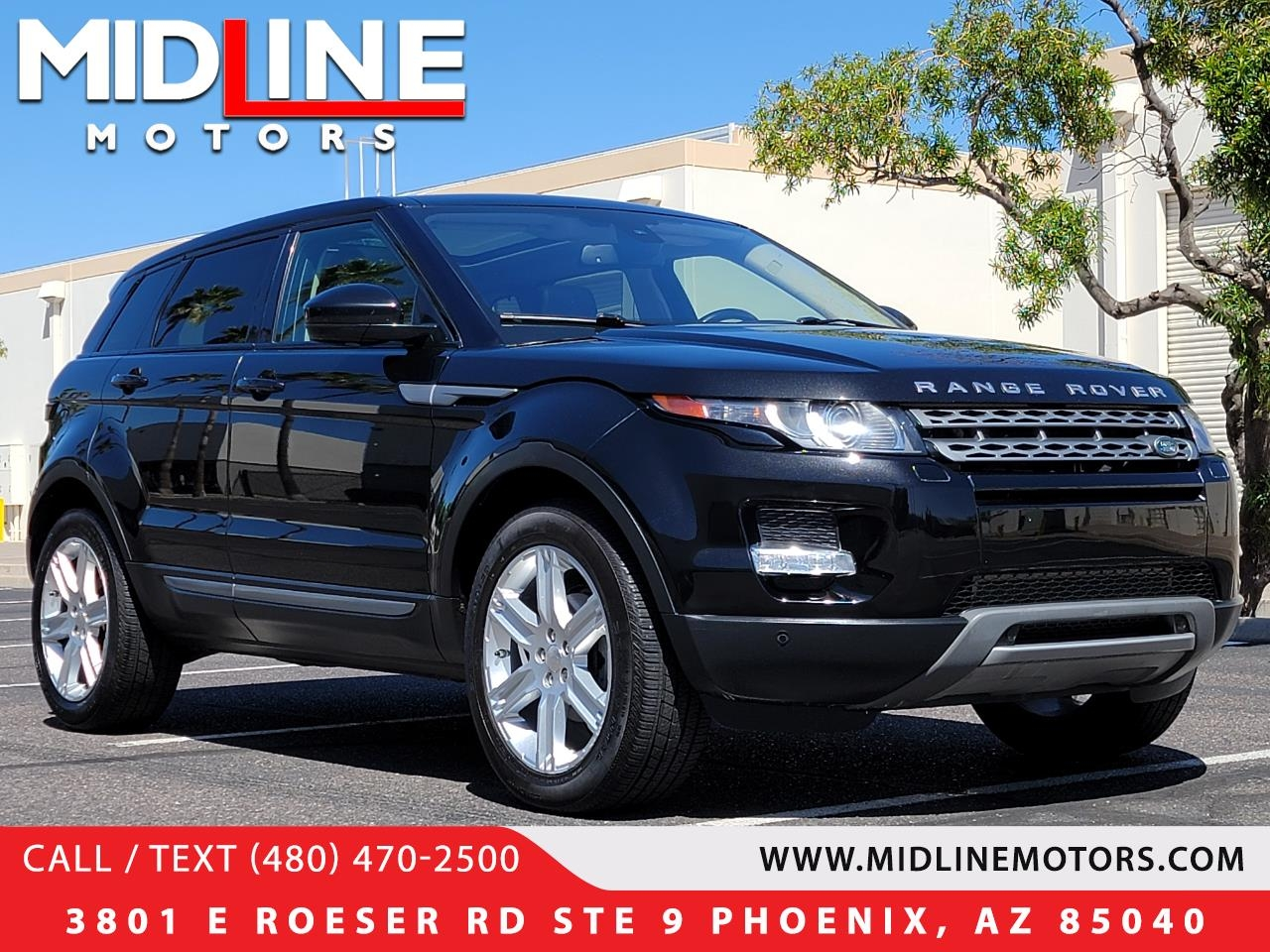 Land Rover Range Rover Evoque Pure Plus 5-Door 2014