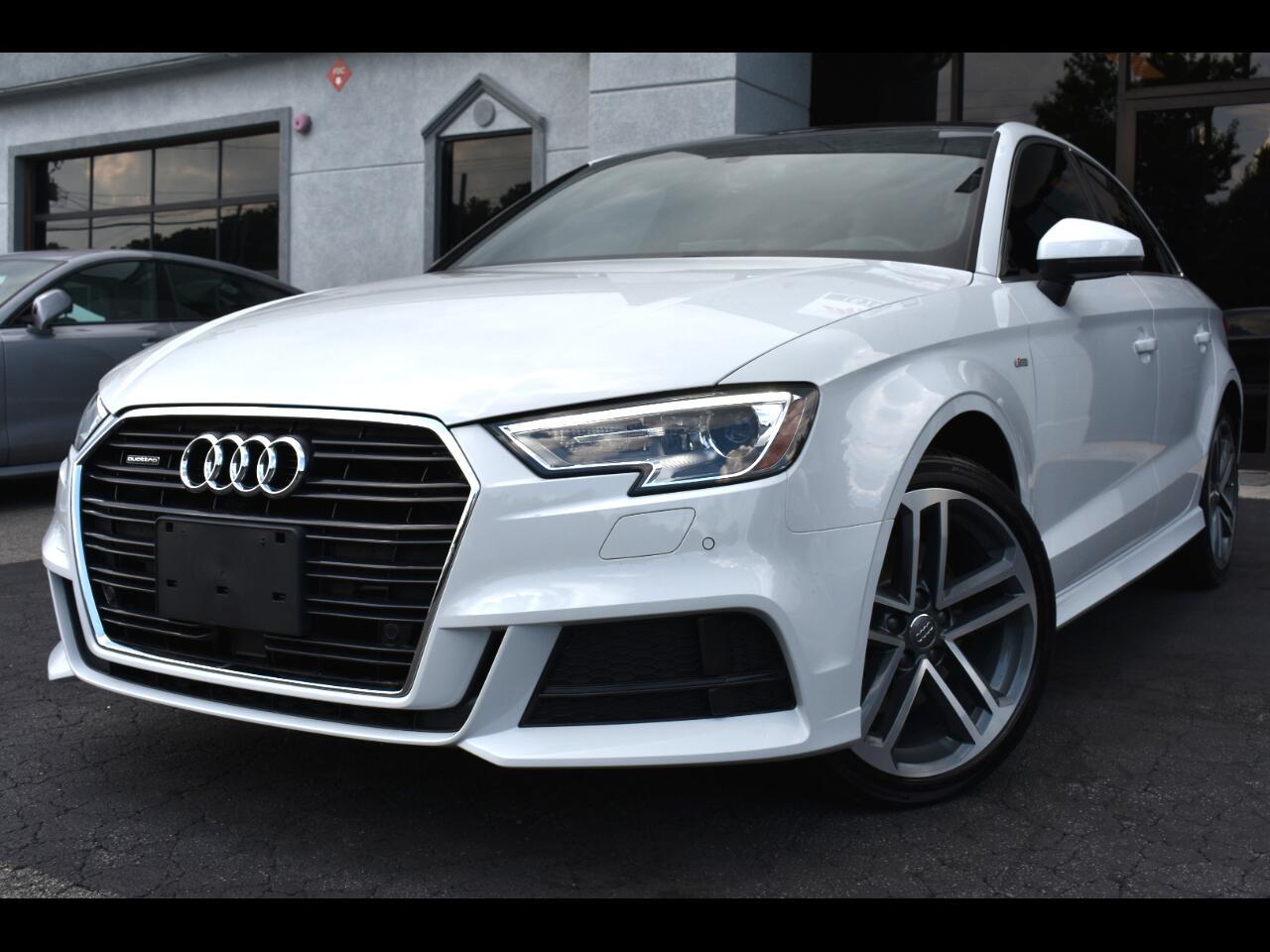 Audi A3 Sedan 2.0 TFSI Premium Plus quattro AWD 2018