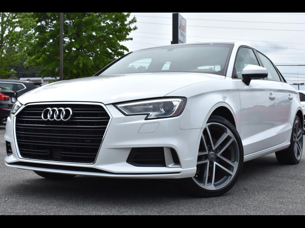 Audi A3 Premium 4D Sedan 2.0t 2018