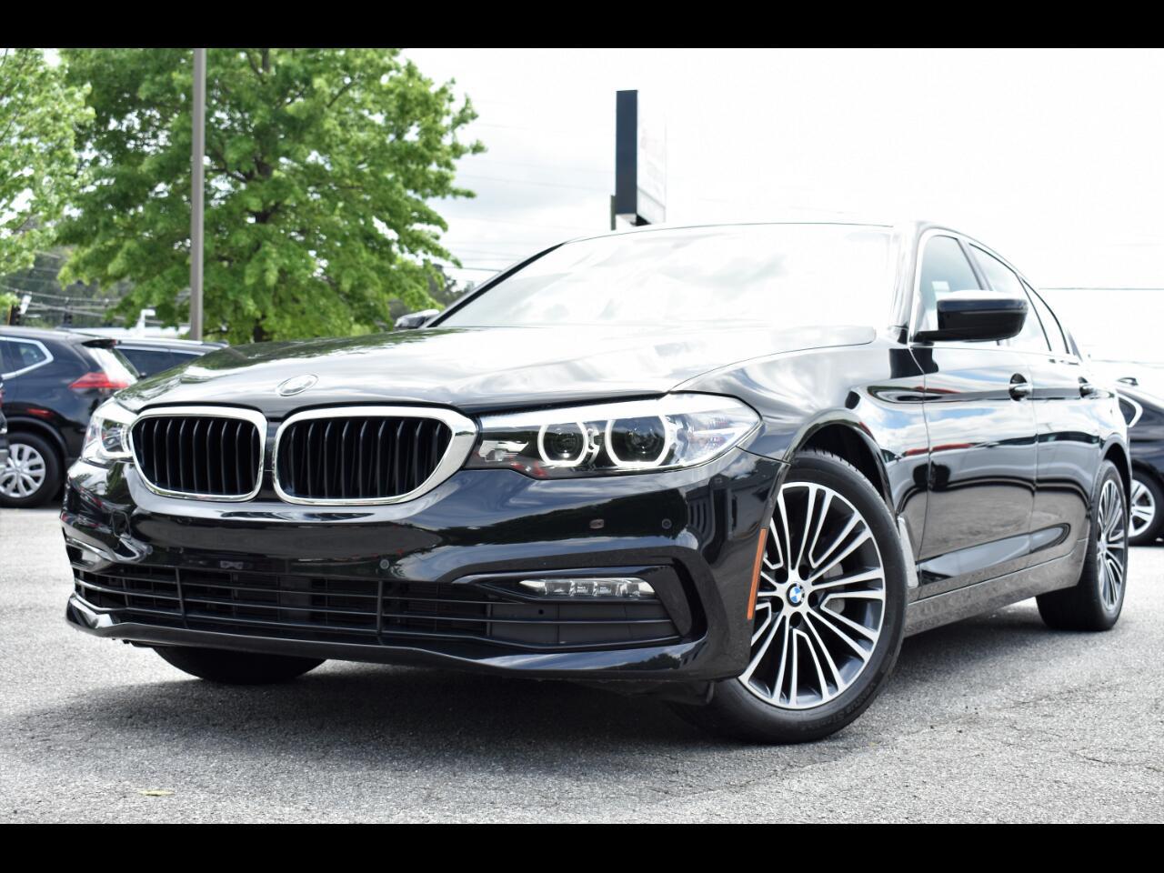 BMW 5-Series 530i 4D Sedan 2017