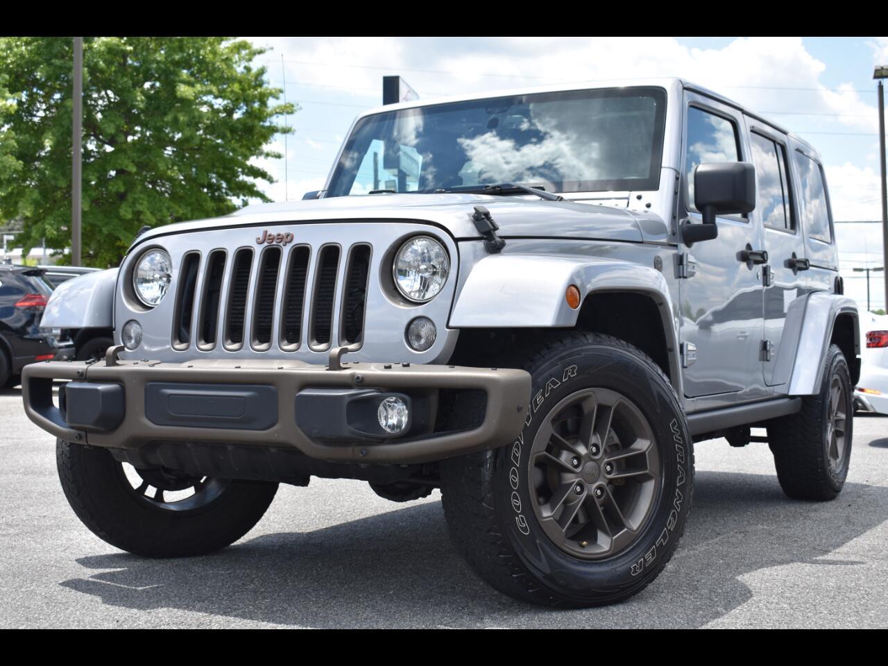 Jeep Wrangler Unlimited Sahara 4D SUV 4WD 2016