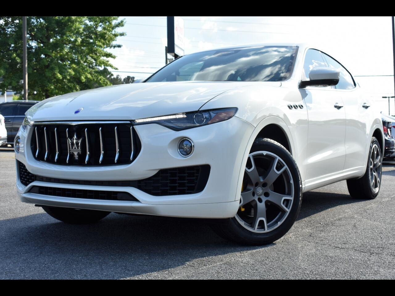 Maserati Levante Base 4D SUV 2017
