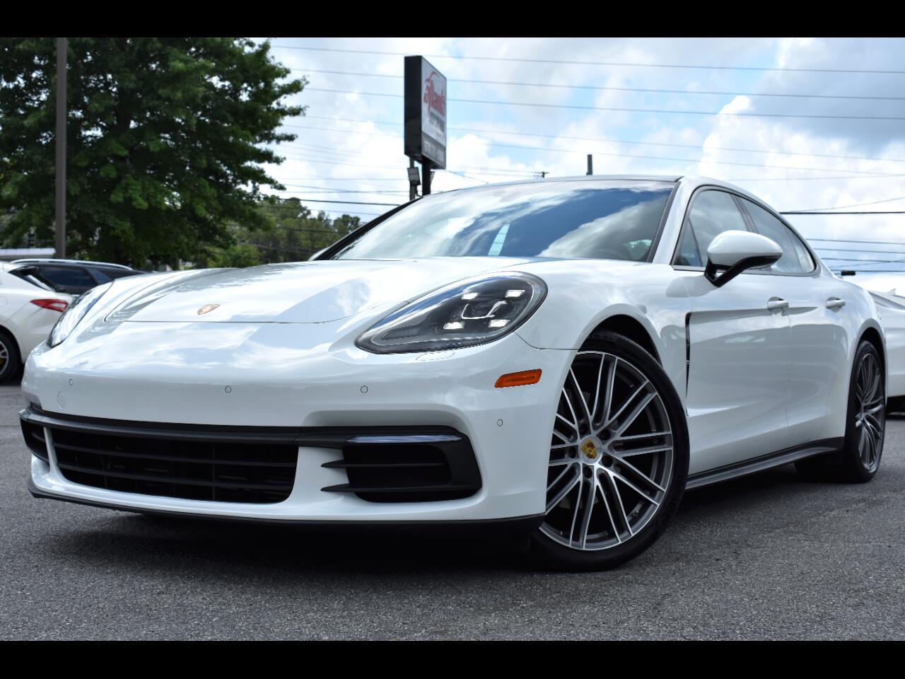 Porsche Panamera 4 4D Sedan 2018