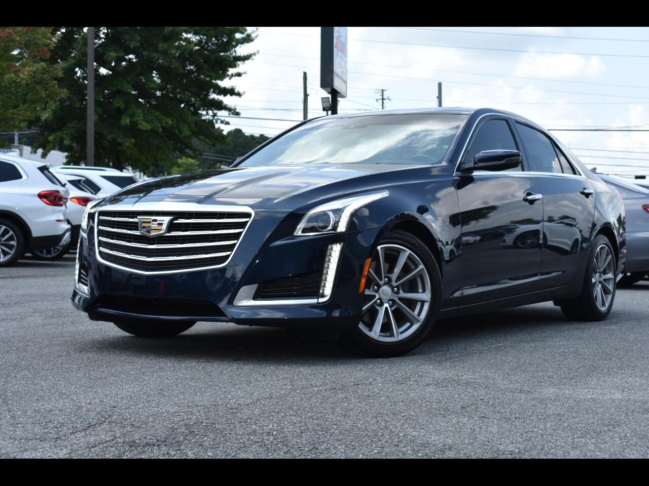 Cadillac CTS Luxury 4D Sedan RWD 2.0t 2017