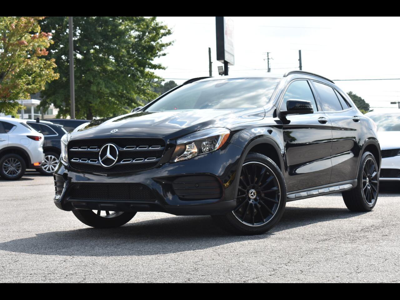 Mercedes-Benz GLA GLA250 4D SAV 2018