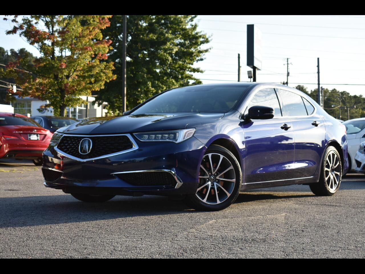 Acura TLX Base 3.5L 4D Sdn 2019