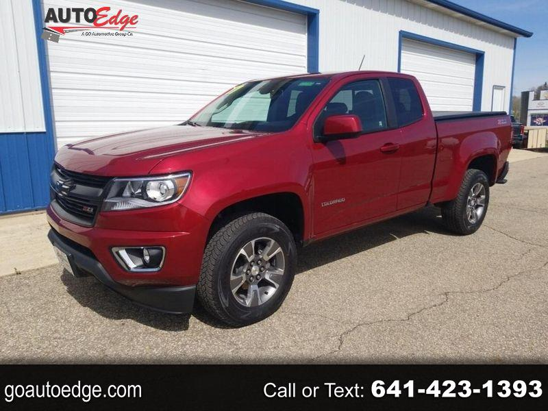 "Chevrolet Colorado 4WD Ext Cab 128.3"" Z71 2017"