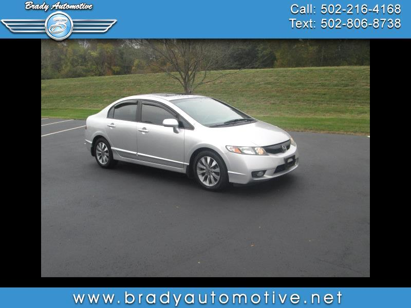 Honda Civic EX Sedan 5-Speed AT 2010