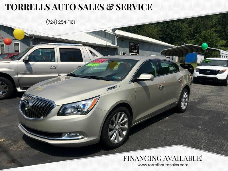Buick LaCrosse Leather Package 2014
