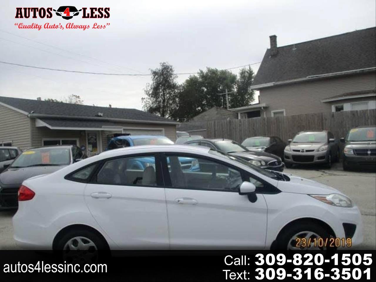 Ford Fiesta S Sedan 2011