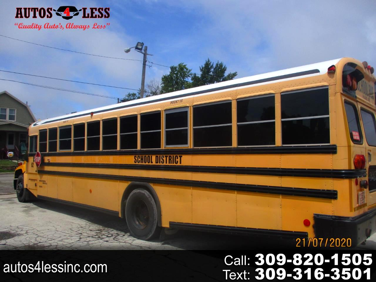 Blue Bird School/Transit Bus  2009