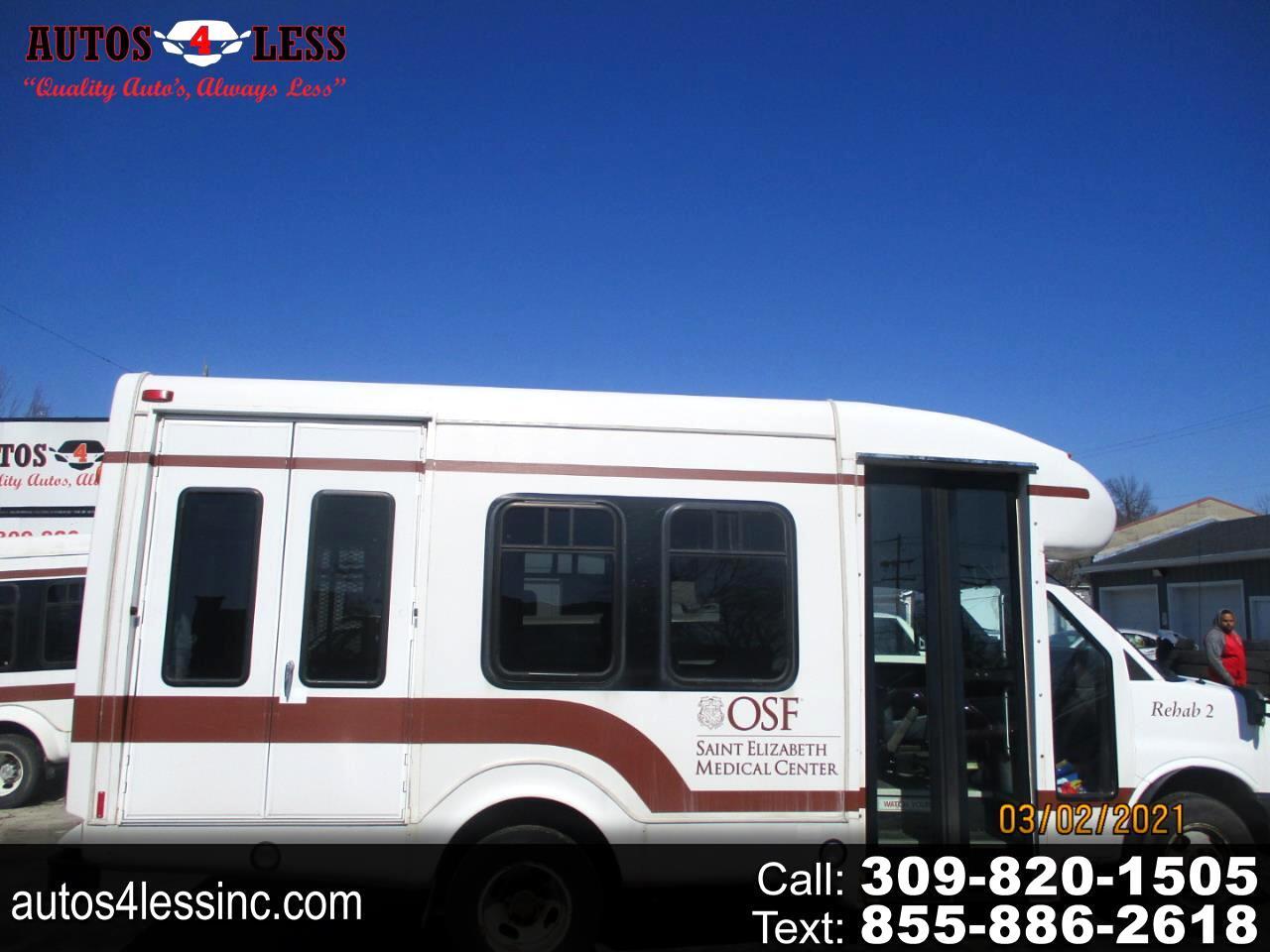 "Chevrolet Express Commercial Cutaway RWD 3500 139"" WB Work Van 2011"