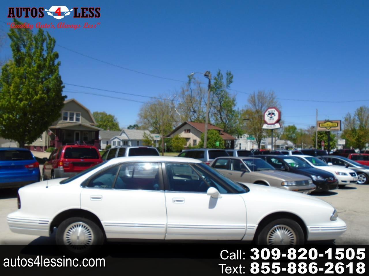 Oldsmobile Regency 4dr Sdn 1997
