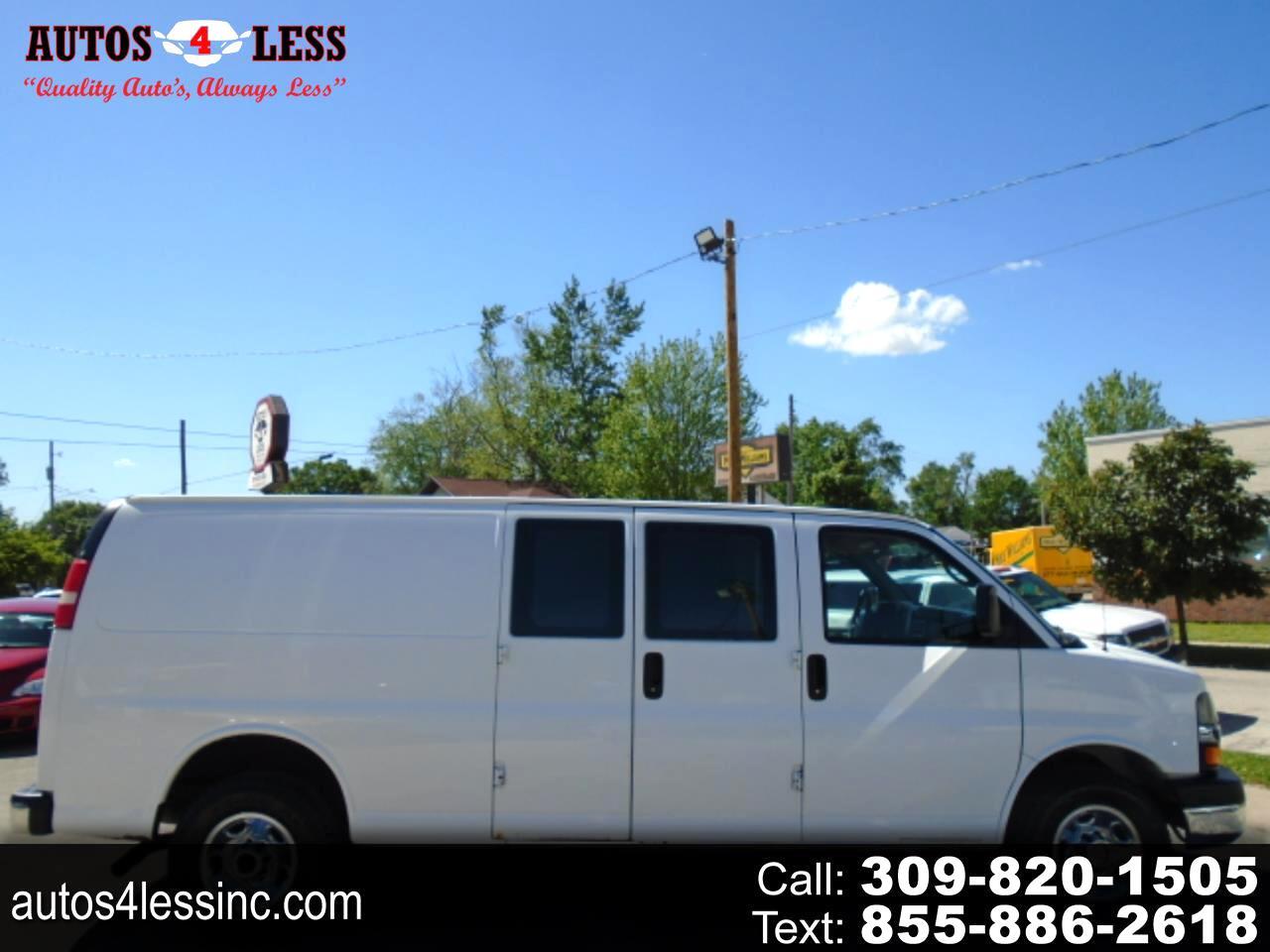 """Chevrolet Express Cargo Van RWD 3500 155"""" 2013"""