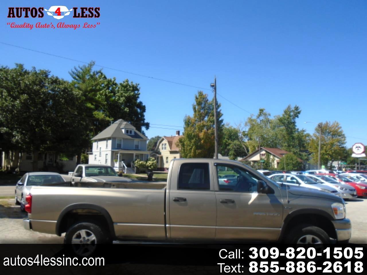 "Dodge Ram 1500 4WD Quad Cab 160.5"" SLT 2007"