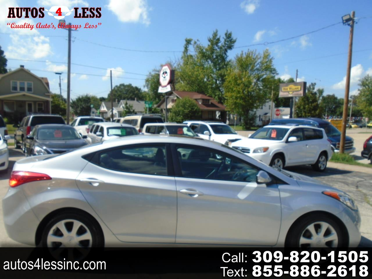 Hyundai Elantra 4dr Sdn Auto Limited (Alabama Plant) 2012