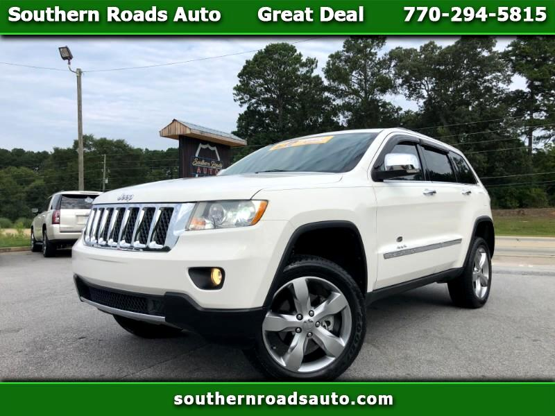 Used 2011 Jeep Grand Cherokee Overland 4wd For Sale In Monroe Ga 30655 Southern Roads Auto
