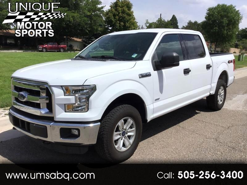 "2016 Ford F-150 SuperCrew 139"" XLT 4WD"