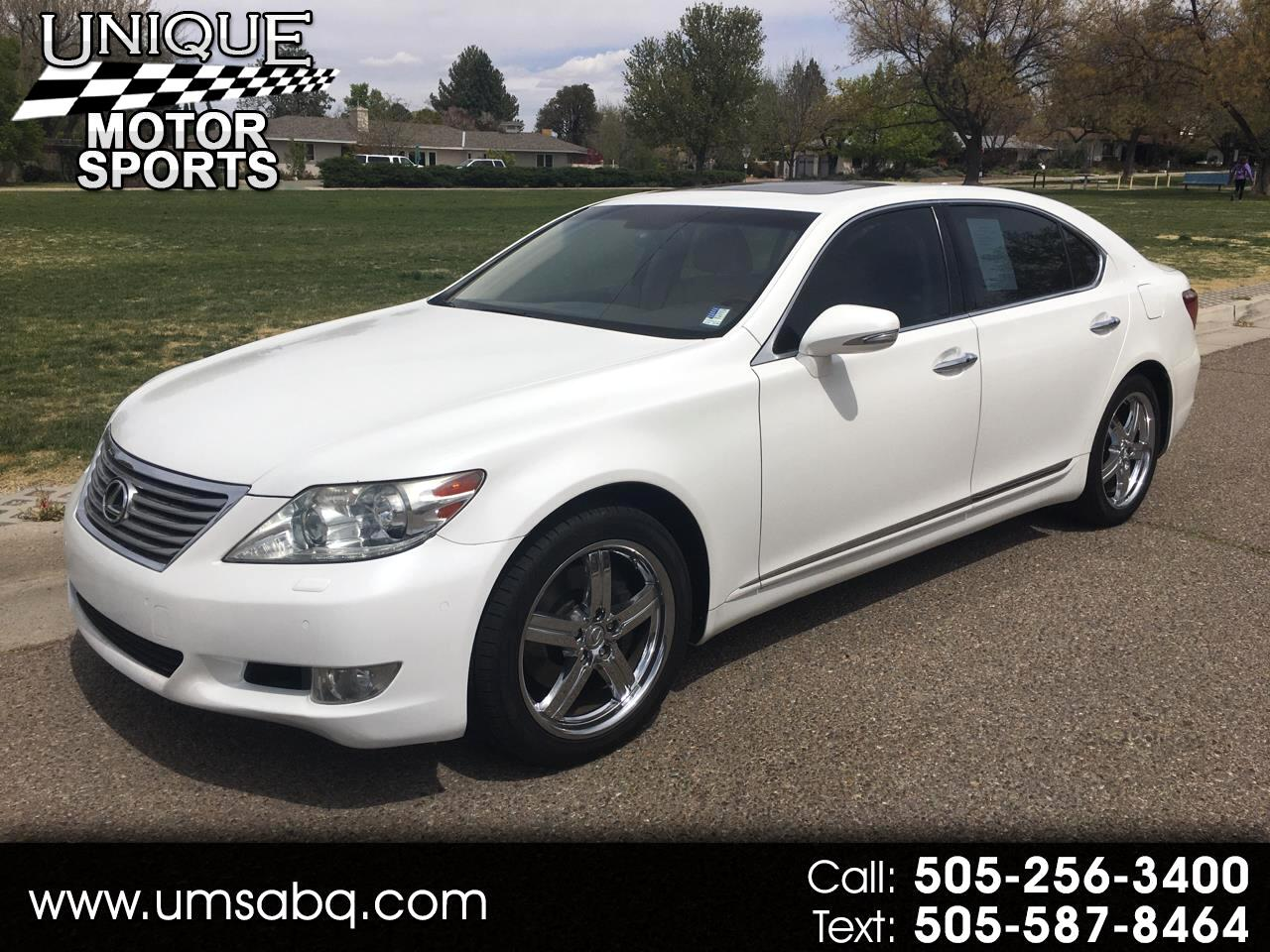 Lexus LS 460 L Luxury Sedan 2012