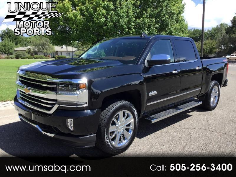 2018 Chevrolet Silverado 1500 High Country Crew Cab Short Box 4WD