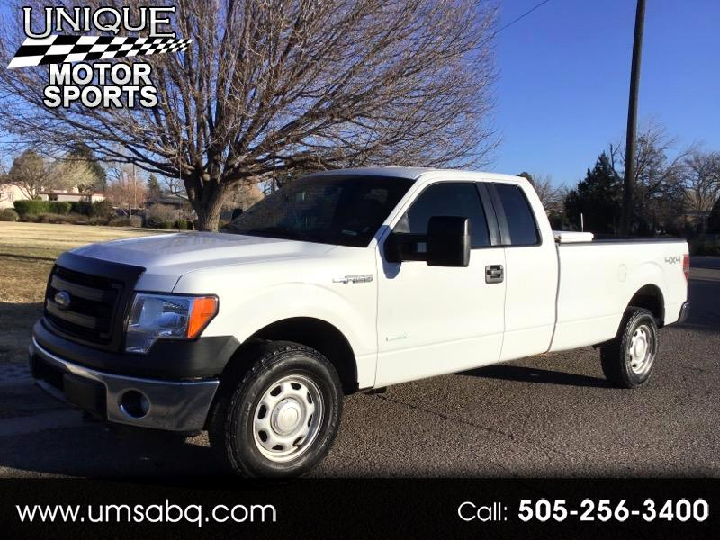 Ford F-150 XL SuperCab Long Box 4WD 2014