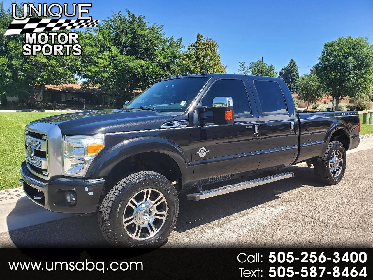 Ford F-350 SD Platinum Crew Cab Long Box 4WD 2014