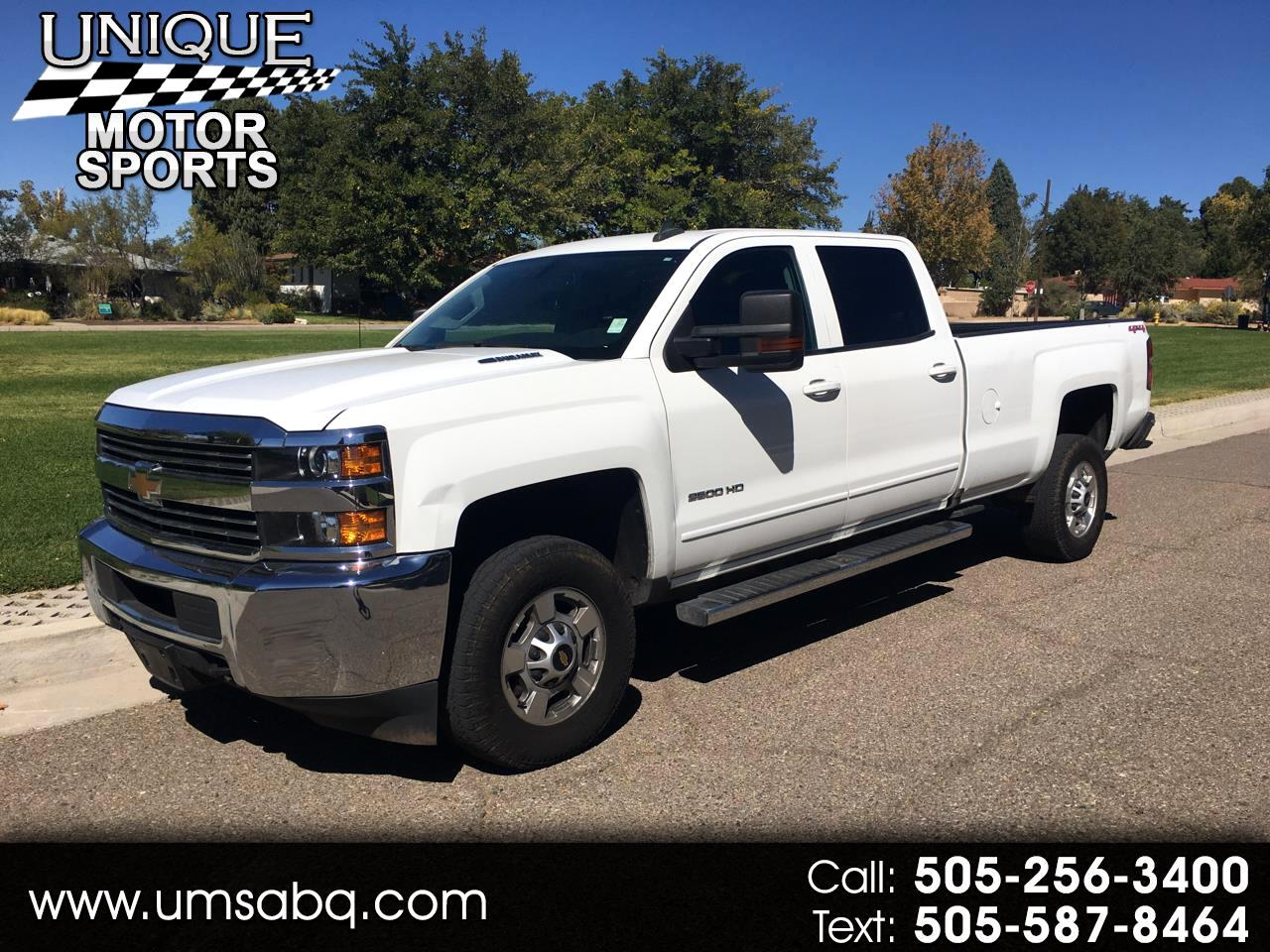 Chevrolet Silverado 2500HD LT Crew Cab Long Bed 4WD 2016