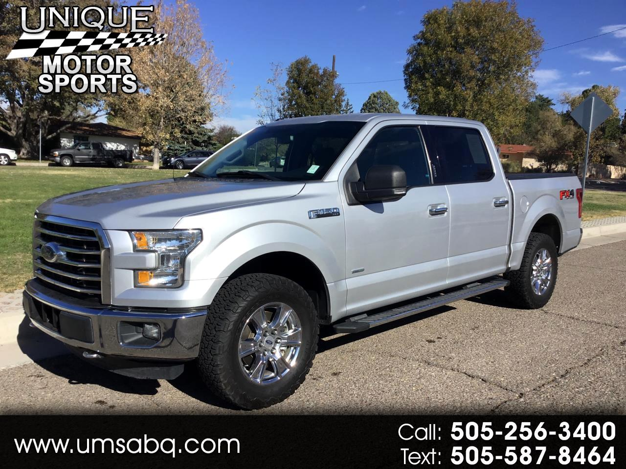 "Ford F-150 4WD SuperCrew 150"" FX4 2016"