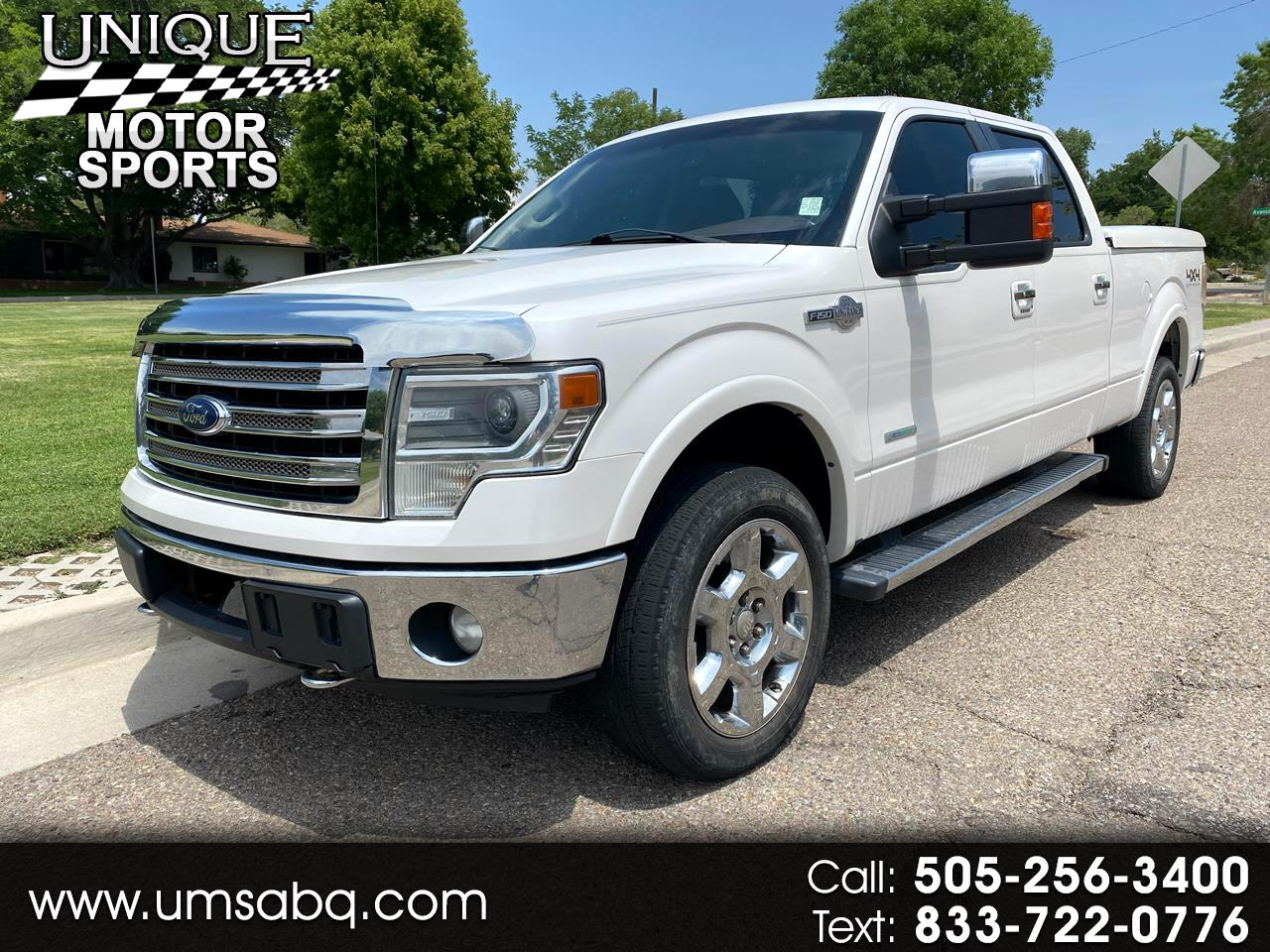 Ford F-150 King Ranch SuperCrew 6.5-ft. Bed 4WD 2013
