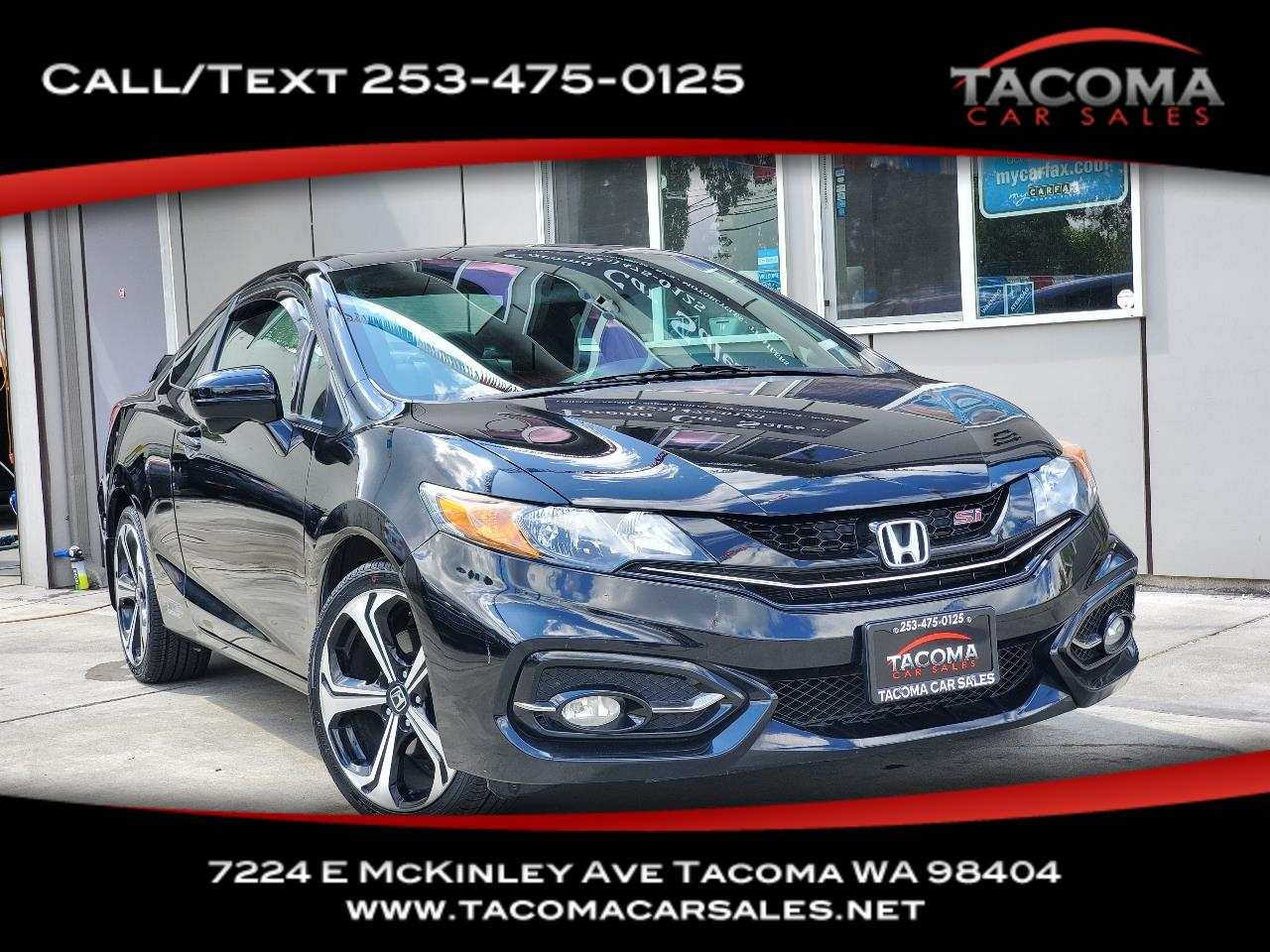 Honda Civic Coupe 2dr Man Si 2014