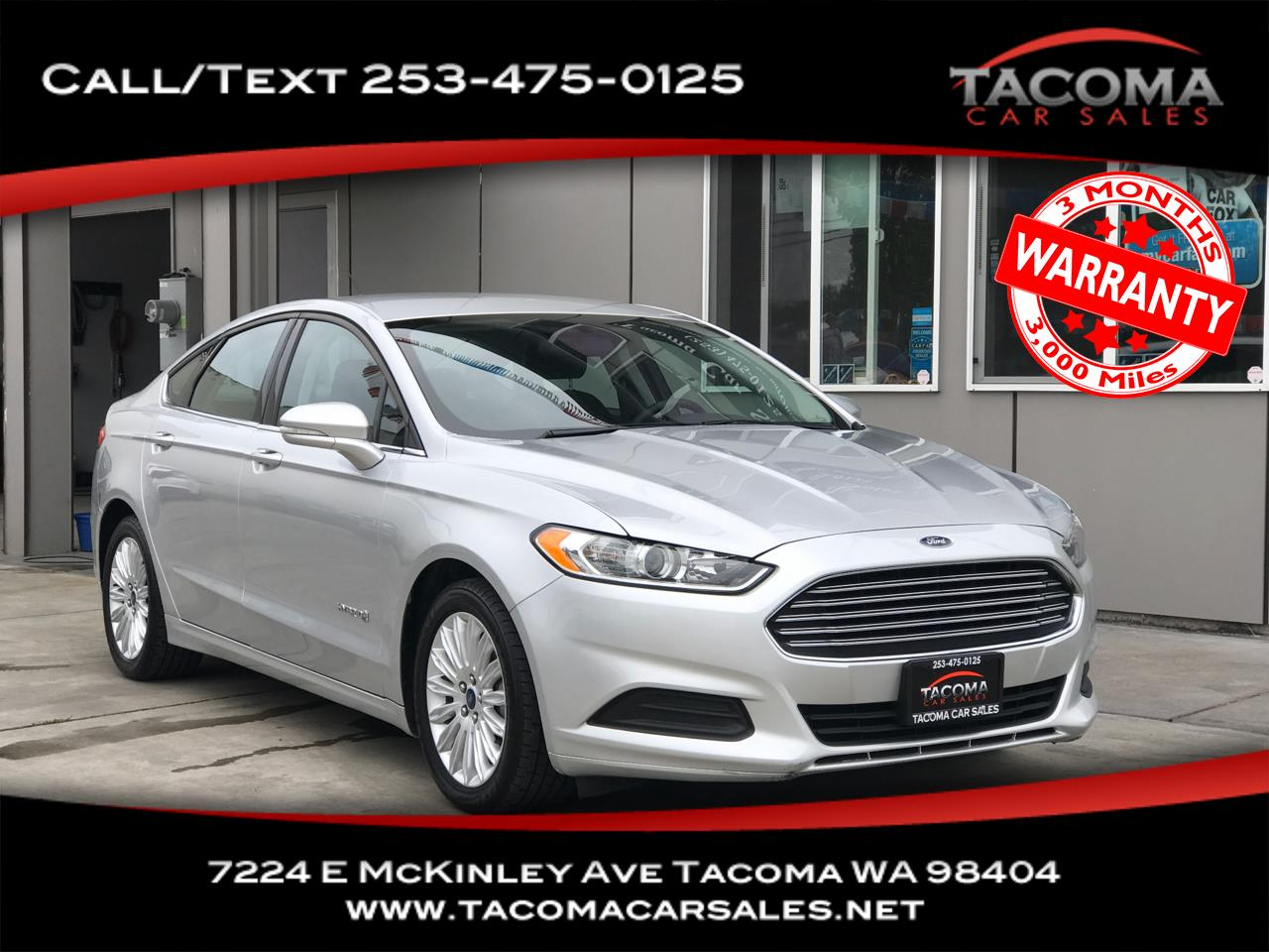 Ford Fusion 4dr Sdn SE Hybrid FWD 2016