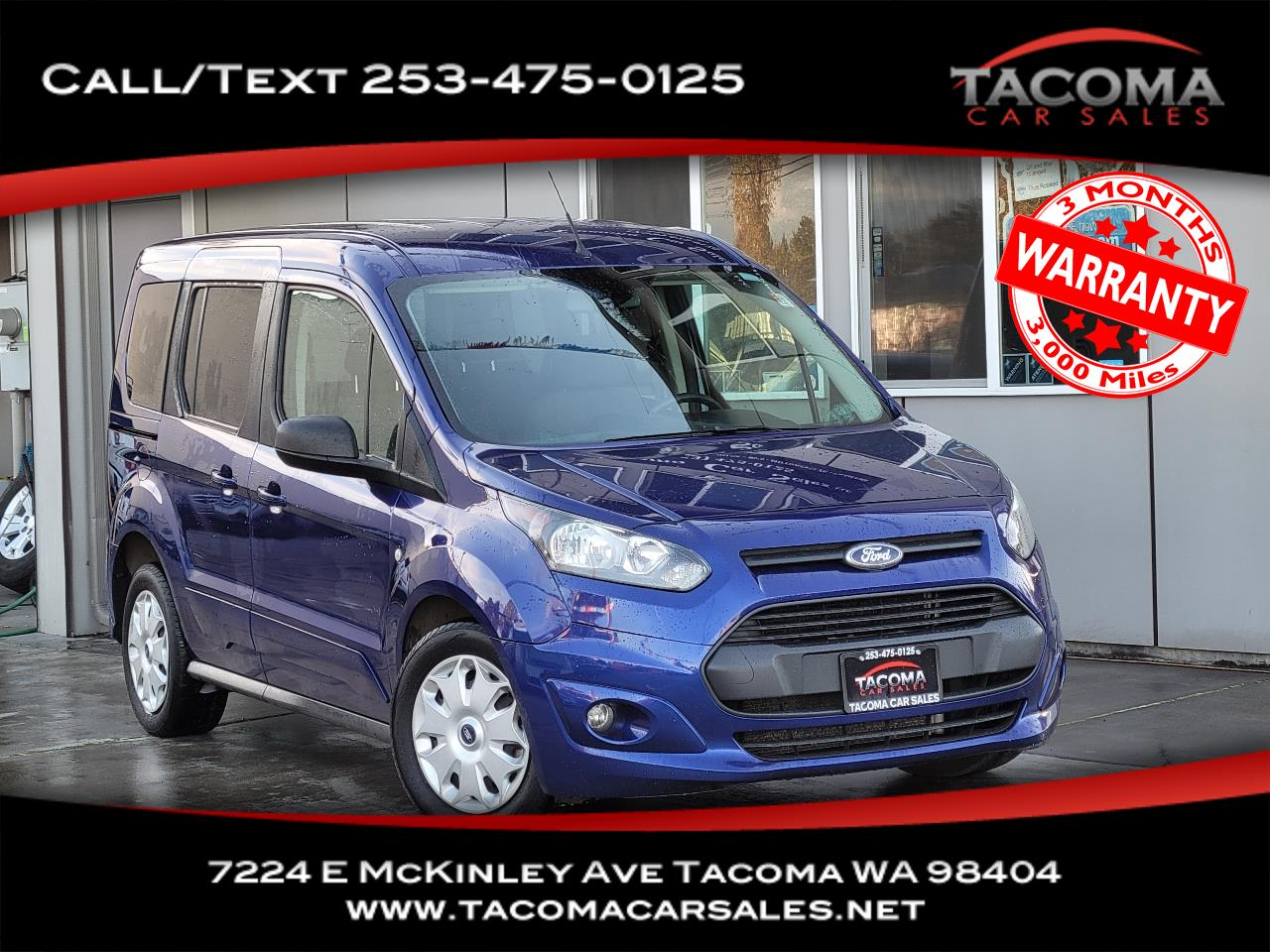 Ford Transit Connect Wagon 4dr Wgn SWB XLT w/Rear Liftgate 2015