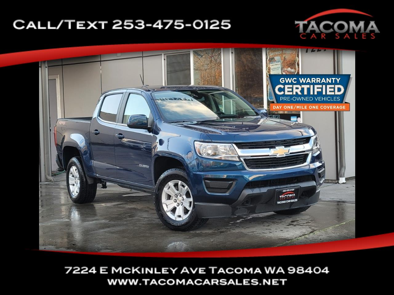 "Chevrolet Colorado 4WD Crew Cab 128"" LT 2020"